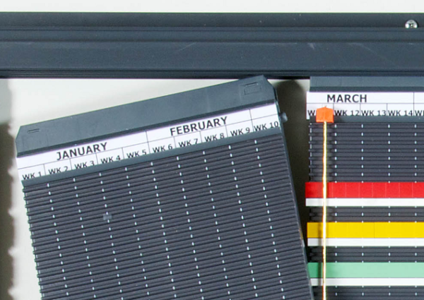 Magnetic Planning Panels simply insert into Wal Rail sets