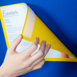 Hook and Loop backed Document Display Pockets (A4)