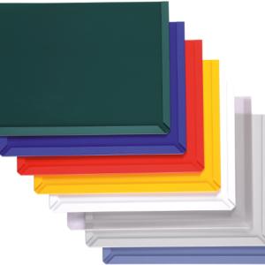 Magnetic backed Document Pockets, colour range
