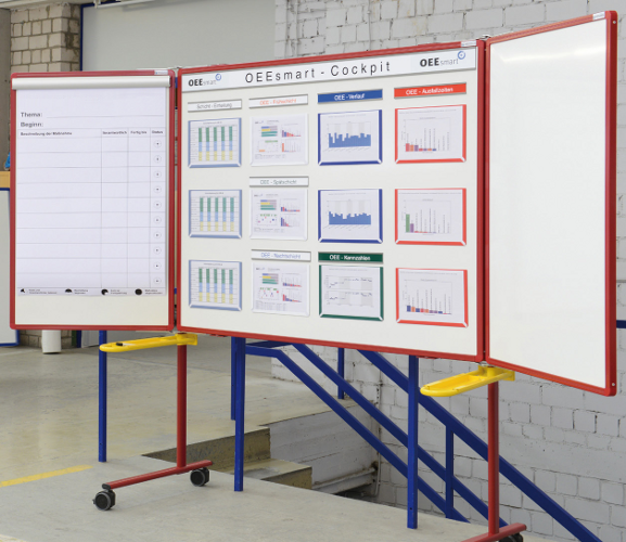 Adhesive backed Document Display Pockets - information display