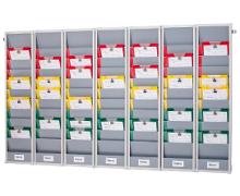 Rotating Document Rack Index