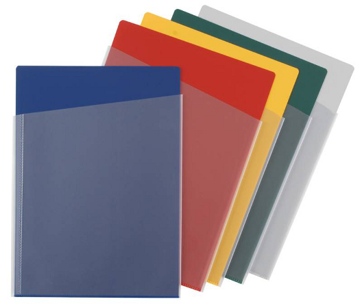 Orga Document Pockets, product colour range