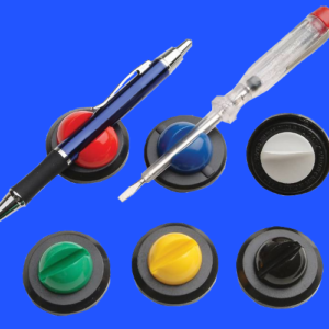 Adhesive backed Pen Clips, product colour range