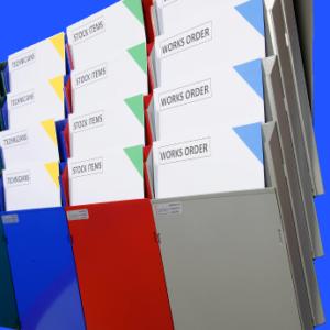 Multi-rack Cascading Display System, single colour units