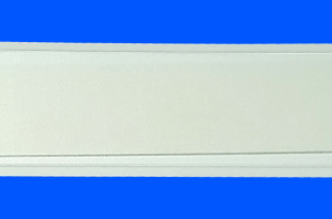 Magnetic Tab, one side opening, white