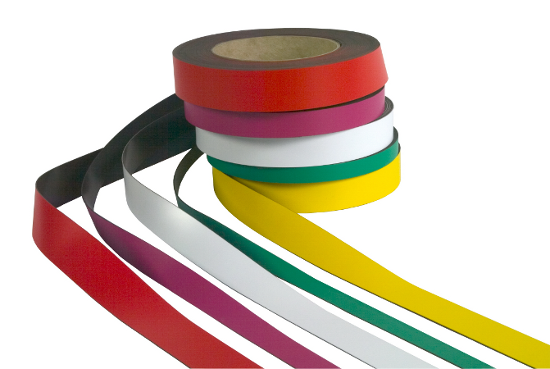 Magnetic Tape, assorted colours and depths