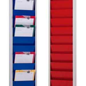 Steel Document & Clipboard Rack, colour range