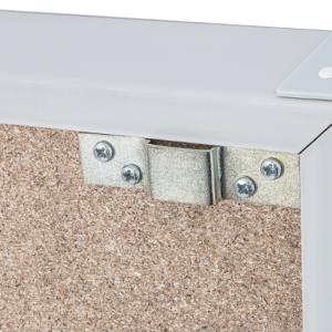 Document & Clipboard Rack, wall mounting bracket