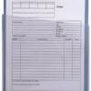 Large capacity (10mm) document pocket, loaded