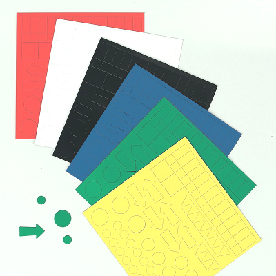 Assorted Magneti Shapes, assorted colour pack