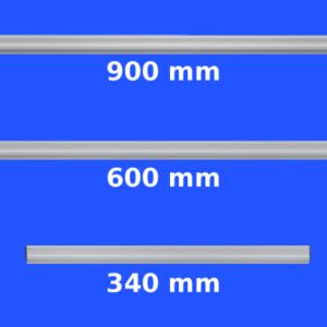 Magnetic Paper Hanging Grippa Rails, size range