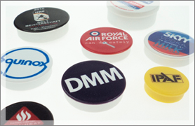 Bespoke Pre-printed Memo Magnets, product examples