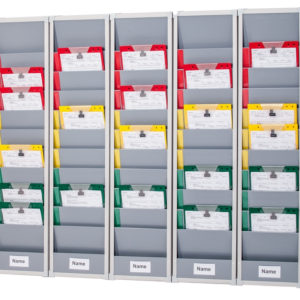 5-day, Rail Mounted Rotating Document Rack Kit