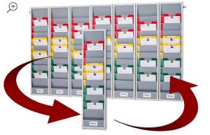 Rotating Document Rack Kit