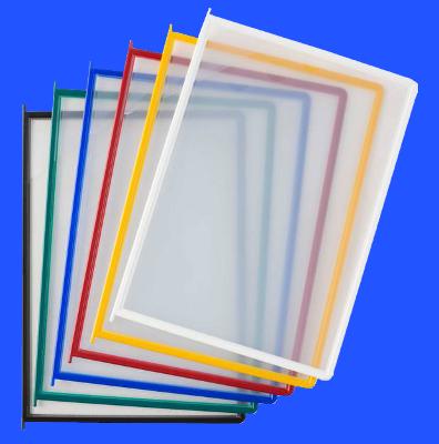 Document Swivel Frame, PF plastic pocket colour range