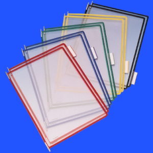 Document Swivel Frame, TA pockets colour range