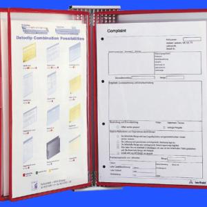 Document Swivel Frame (TA), red pockets