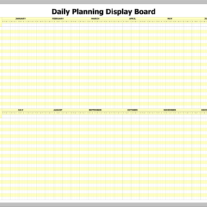 DPWB-52 – Daily Planning Display Printed Whiteboard Kit