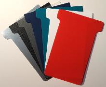 Plastic T-Cards