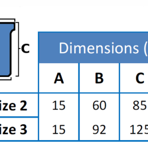 Dimension Table, Plastic T-Cards
