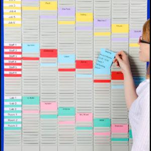 Week Planner T-Card Kit (WPK-3), T-card loading
