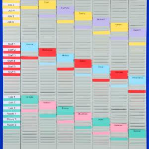 Week Planner T-Card Kit (WPK-3), size 3