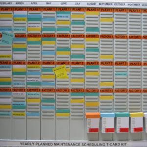 Planned Maintenance T-Card Kit (WPMB-32), size 2