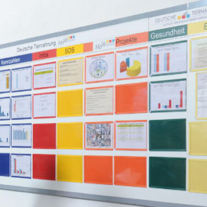 Document Display Pockets – magnetic board display