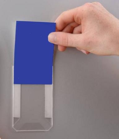 Mini Document Pocket, transparent