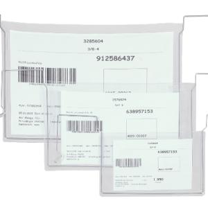 Wire Fixed Kanban Pocket, pocket size range