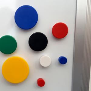 Circular Memo-Magnets