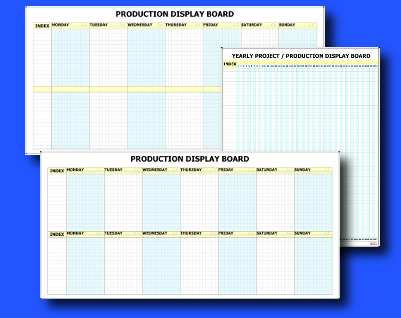 Eurocharts range of Pre-Printed Whiteboard Kits