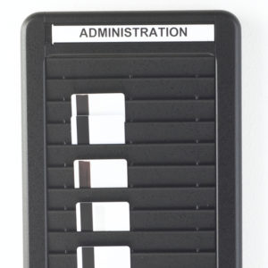 Badge Rack, Double Column, Cropped