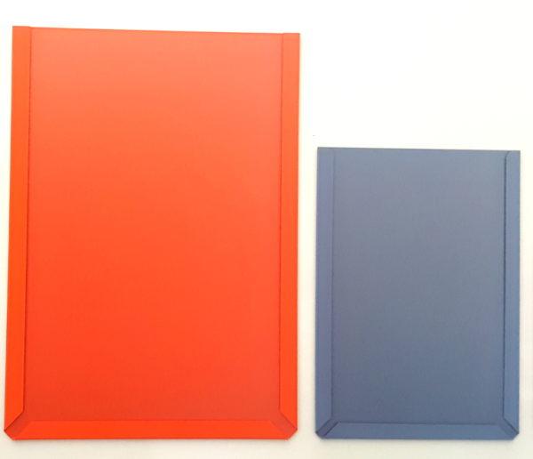 Document Pockets, A4 & A5, Orange & Blue-Grey