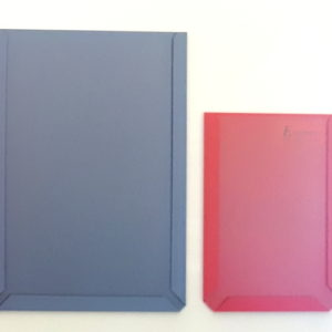Document Pockets, A5 & A6, Blue-Grey & Red