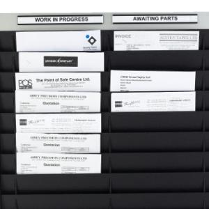 Document Storage Panel, A5 Portrait, Double Column