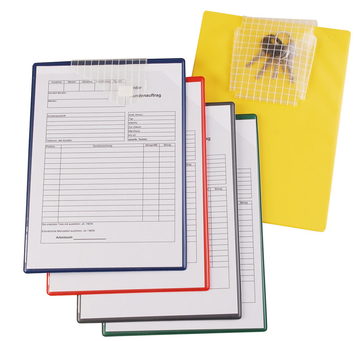 Workshop Scheduling - Job Order Pockets