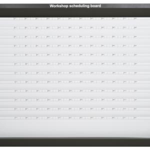 MK2 Workshop Scheduling Board, 12 station, Unloaded
