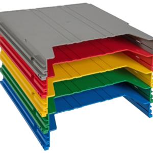 Extra-Capacity Rainbow Rack Additional Pockets - 40 mm capacity