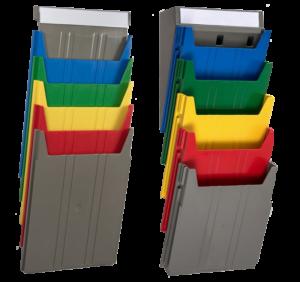 Extra Capacity and Standard Rainbow Racks - Unloaded