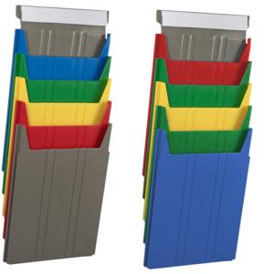 Standard Rainbow Document Racks - unloaded