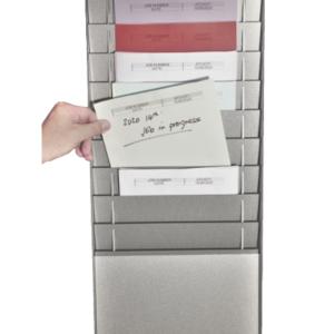 Document Storage Panel, 1 x 10 A4, Silver