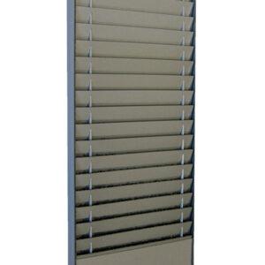 Document Storage Panel, 1 x 18 A5 Landscape, Silver