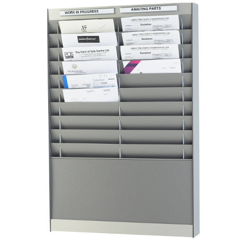 Document Storage Panel, Silver