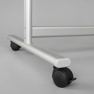 obile Whiteboard Stand Castors